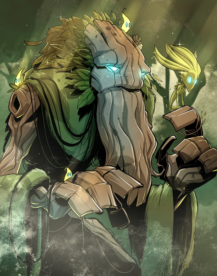 The Treant is our first of 4 heroes that will be part of Season Three! Co-created with Kevin Nguyen