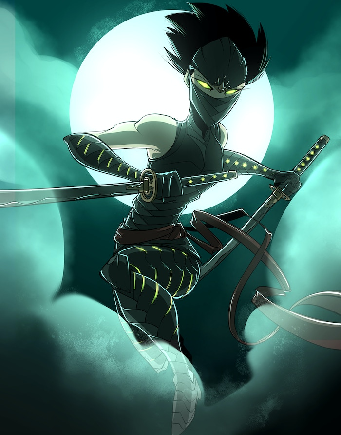 The Ninja is our second of 4 heroes that will be part of Season Three!