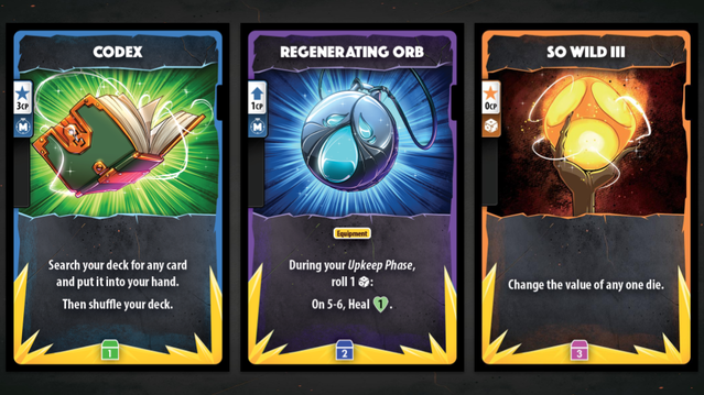 Collect Loot cards to permanently upgrade your hero's deck between campaign sessions!
