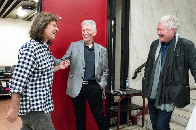 Pat Metheny, Jan Erik Kongshaug, and Arild Andersen