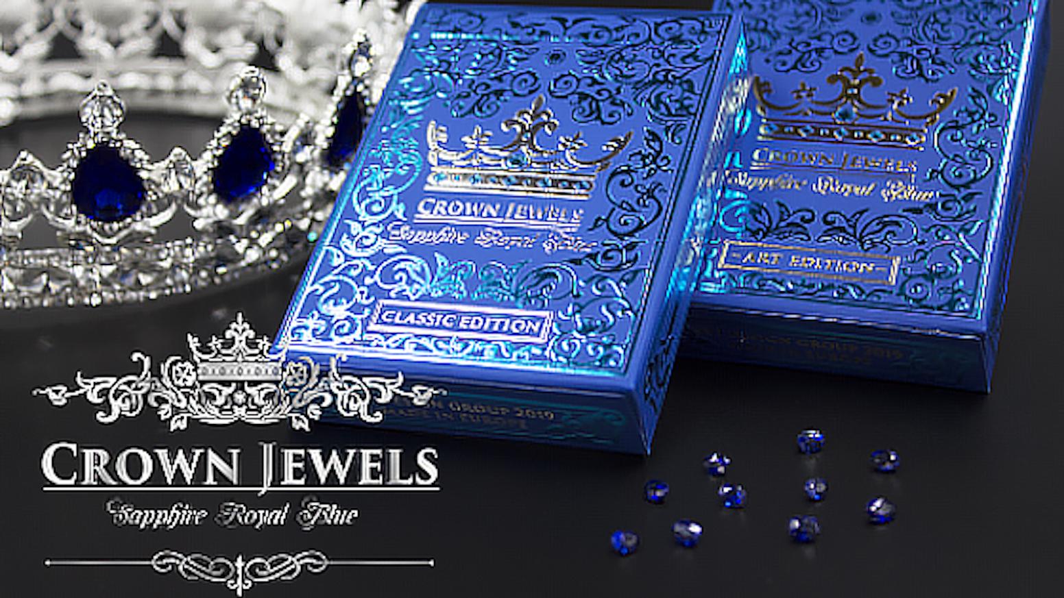Sapphire royal blue
