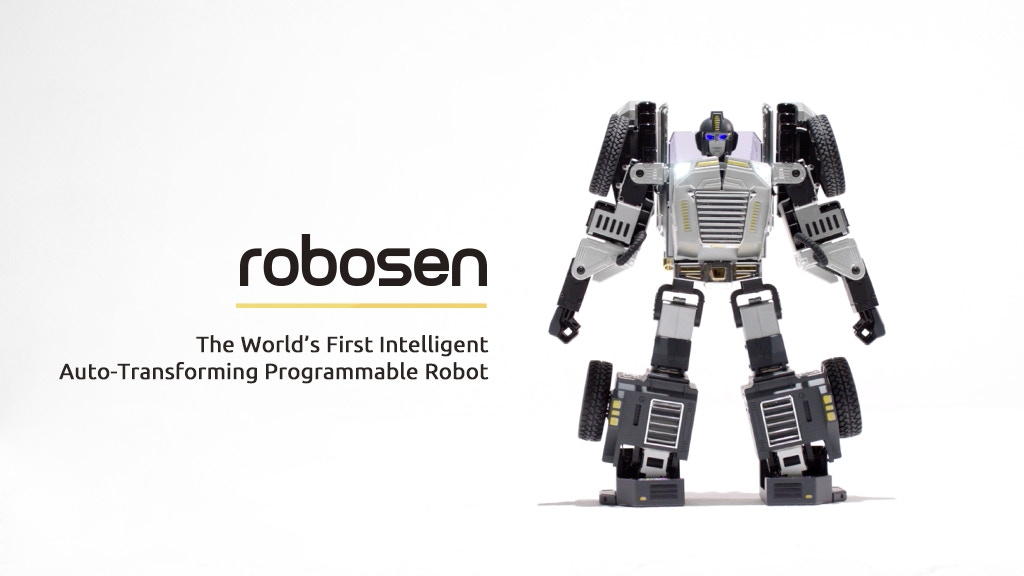 Robosen-The World First Intelligent Auto-Transforming Robot