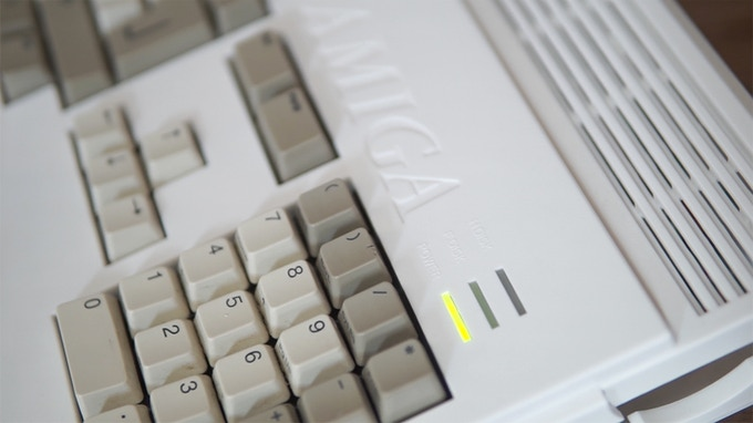 The Commodore Amiga A1200, a 26 year old powerhouse of a retro system
