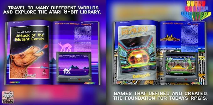 Attack of the Mutant Camel ©1984 Llamasoft  - Alternate Reality - The City ©1985 Datasoft Inc.