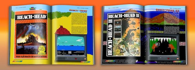 Beach-Head ©1984 Access Software - Beach-Head II ©1986 Access Software