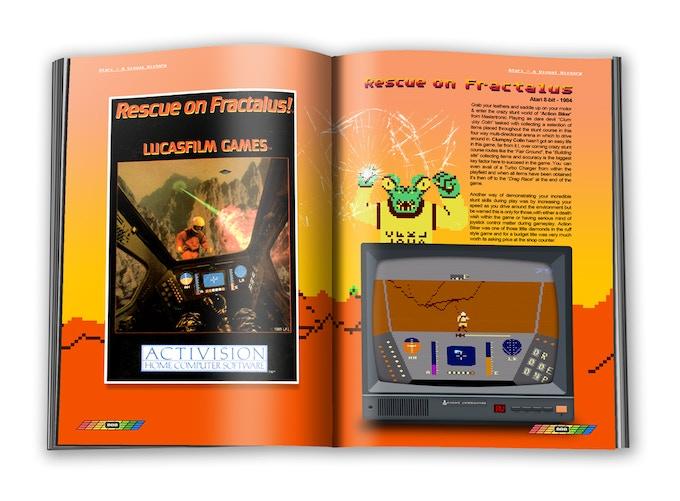 Rescue on Fractalus! ©1985 Lucasfilm Games (Activision)