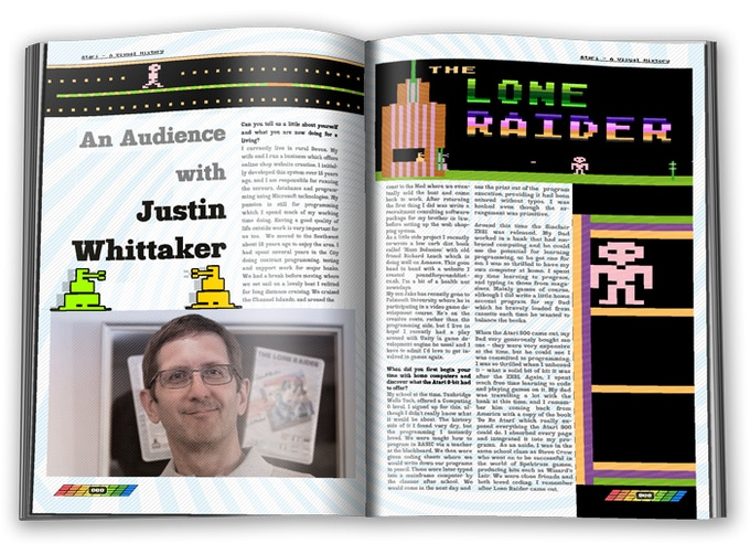 An audience with Justin Whittaker (Creator of Lone Raider)