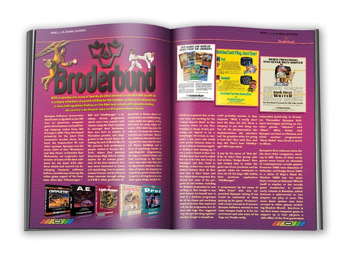 Broderbund Software, a legend in their own right when they produced games for the Atari 8-bit