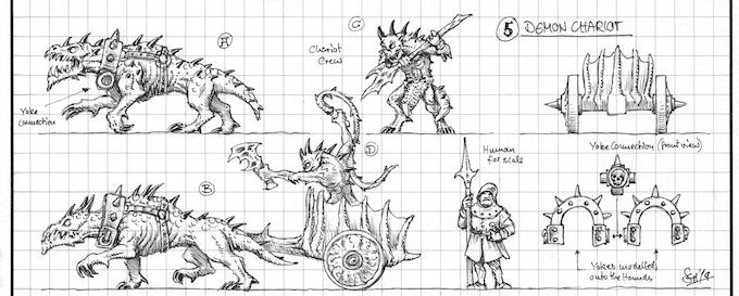 Demon Chariots