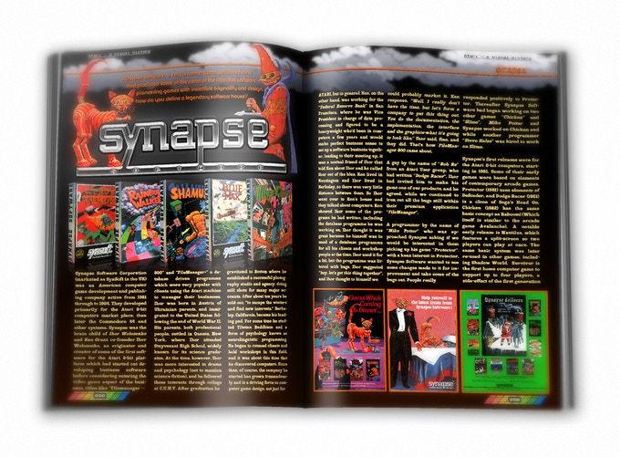Synapse Software - a premium software developer that created some of the most memorable games on the Atari