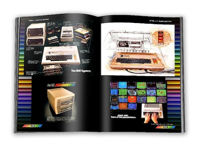 Atari 800 home computer advertisement material