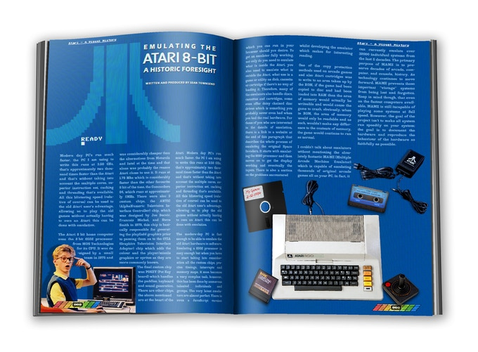 Emulating the Atari 8-bit written by Sean Townsend