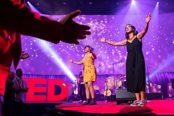 We were official TED Speakers at the 2018 TED Conference in Vancouver, Canada