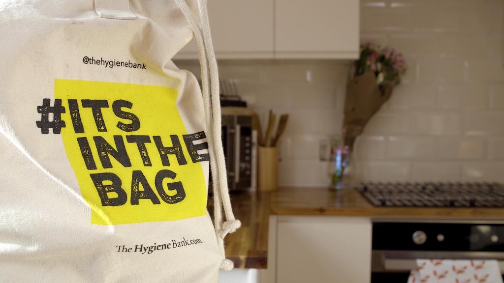 #ITSINTHEBAG - The Hygiene Bank project video thumbnail