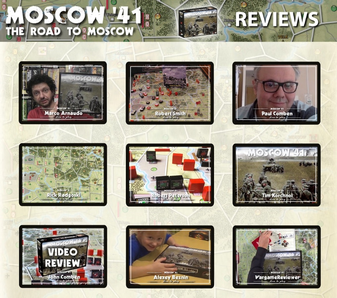 Click for the Reviews of Moscow' 41