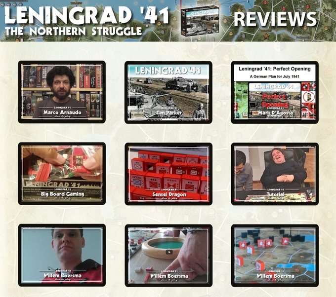 Click for the Reviews of Leningrad' 41