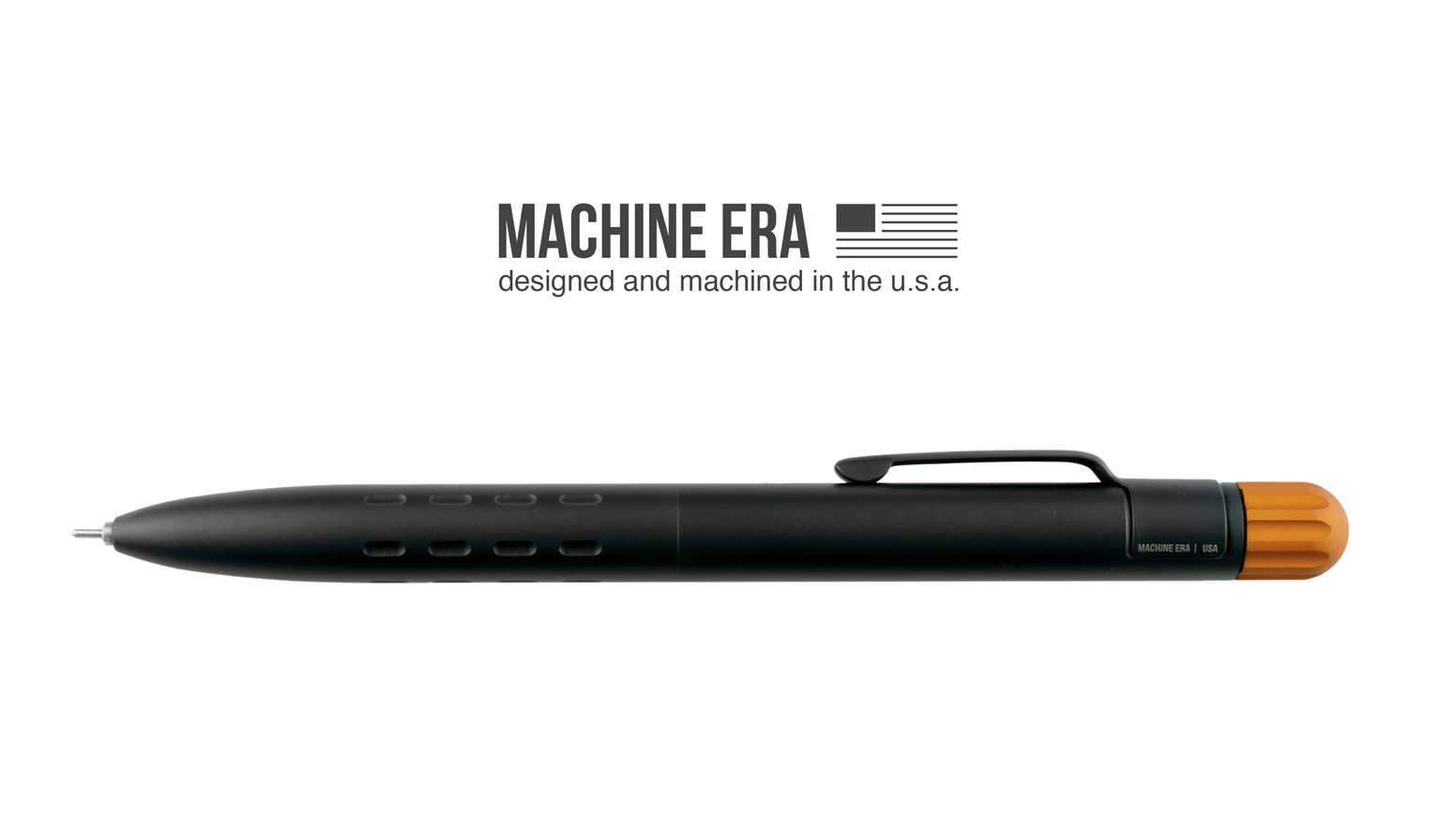 Fits Parker style refills, Machined body, Tactile Details, Smooth 'lock in' action, and an effortless Gel Writer from Itoya.
