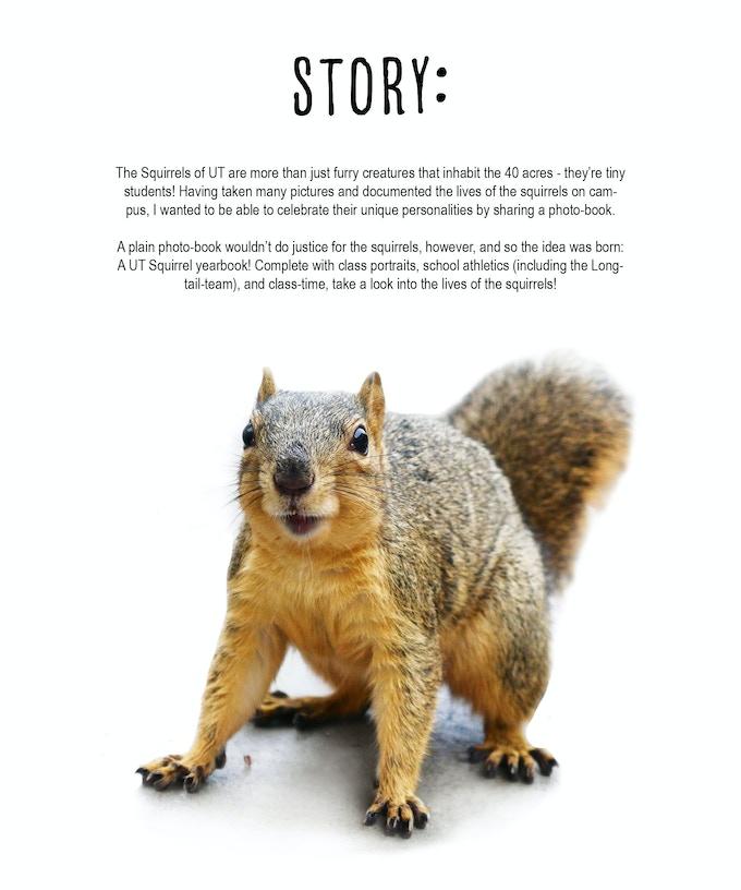 Squirrels of UT: The Yearbook! by Squirrels of UT — Kickstarter