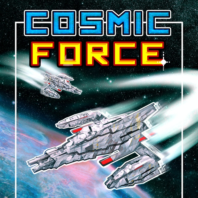 Cosmic Force - Cover Art
