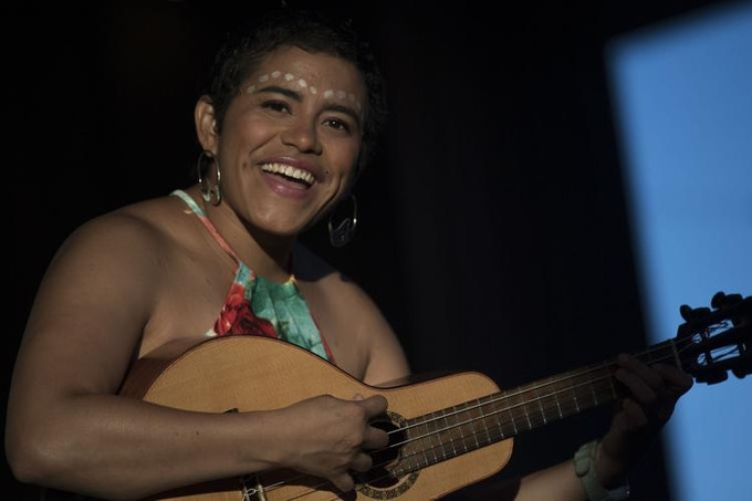 Mafer Bandola at Monterrey Jazz Festival, 2018