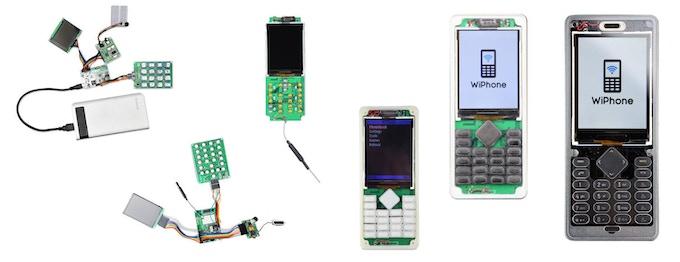 WiPhone Prototyping Progression