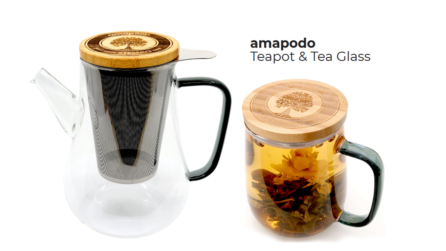 The very best of making it easy to brew up rich, full tea flavours - all in a super simple, unique, healthy and eco-friendly design.