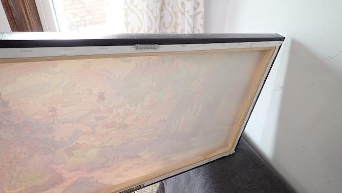 Sturdy Wooden Frame