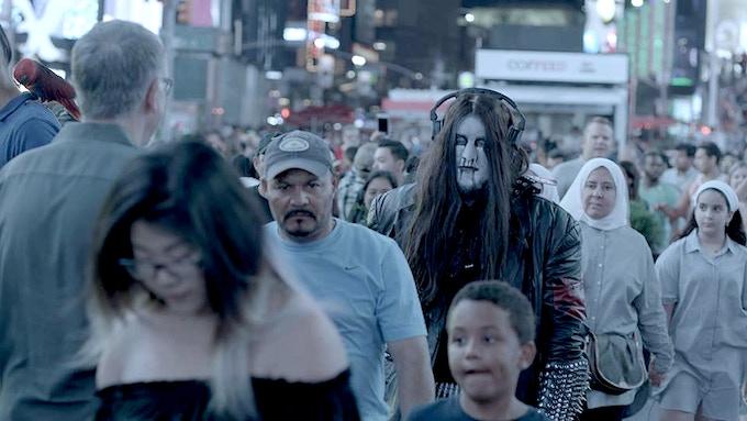 Morbid Blackstar terrorizes Times Square