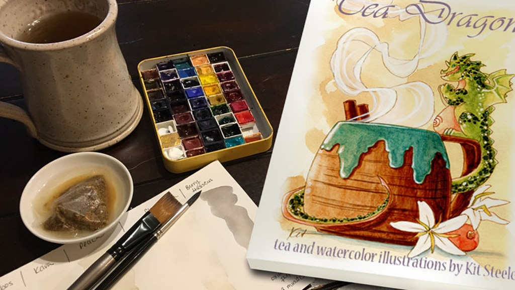 Tea Dragons: Whimsy and Watercolor