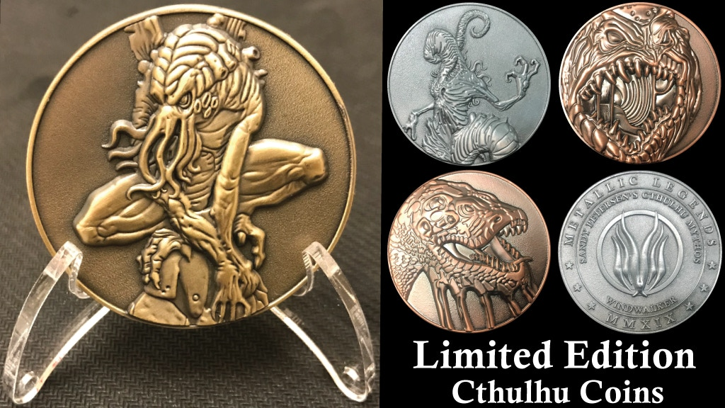 Cthulhu Coins by Sandy Petersen & Metallic Legends project video thumbnail