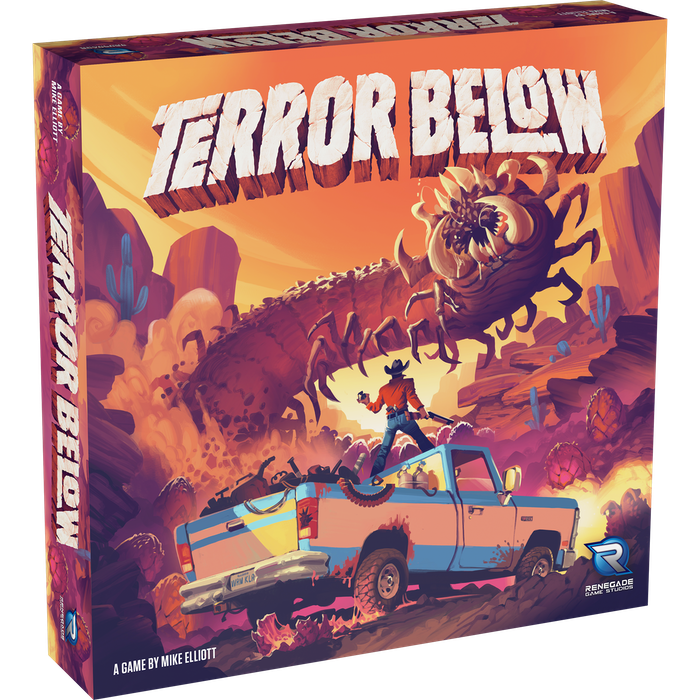 Terror Below is a game of government experiments gone wild in the Nevada desert.