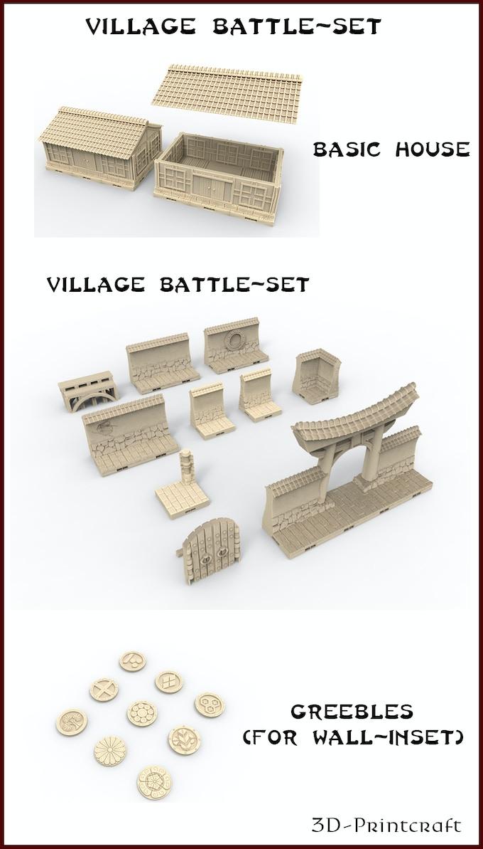 City of the Hobgoblin King: 3D Printable Fantasy RPG Terrain