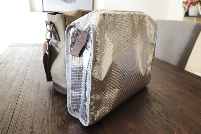 nXtBag2 Removable Lunch bag keep what ever you have cool or warm in our unique removable bag
