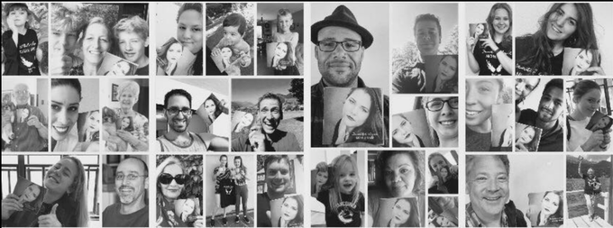 collage of my first kickstarter supporters