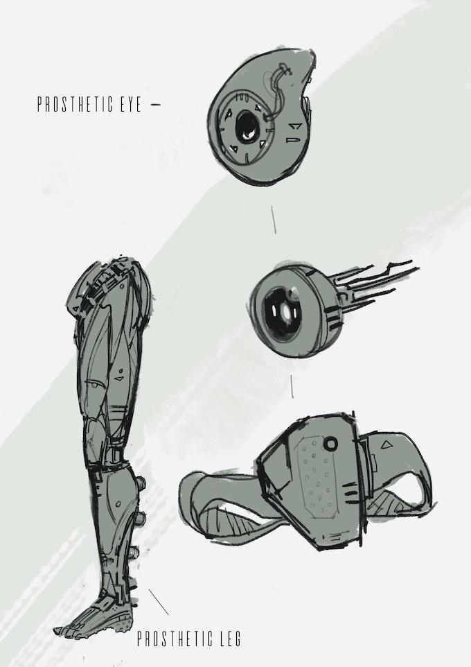 Alberto's sketches