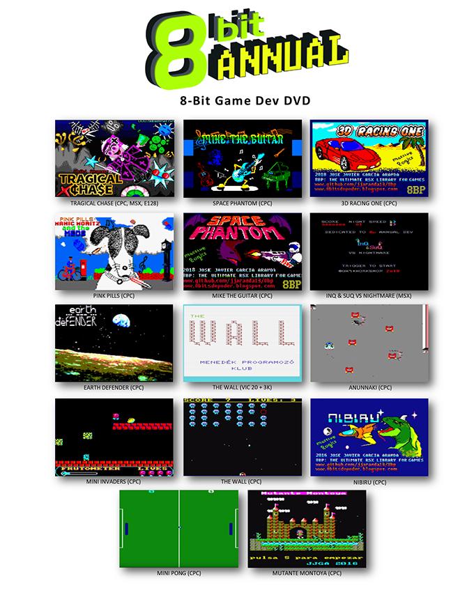 8-Bit Game Dev DVD