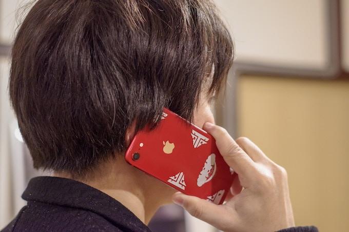 """For Smartphone - color:silver, design: """"Hirute"""""""