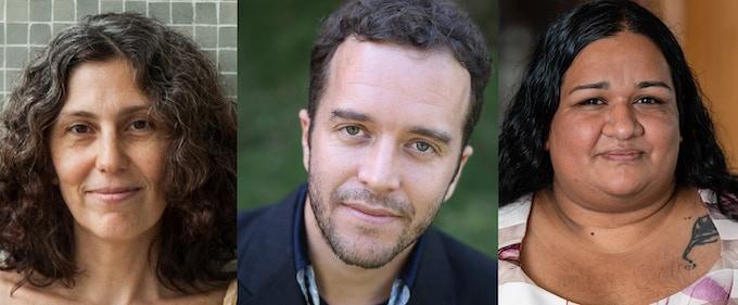 Laura Wittner, Enrique Winter and Shivanee Ramlochan