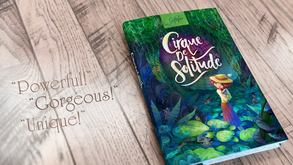 Cirque De Solitude: An All-Ages Illustrated Novel project video thumbnail