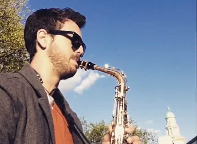 20-April-2016 Practicing in the Park (Berlin)