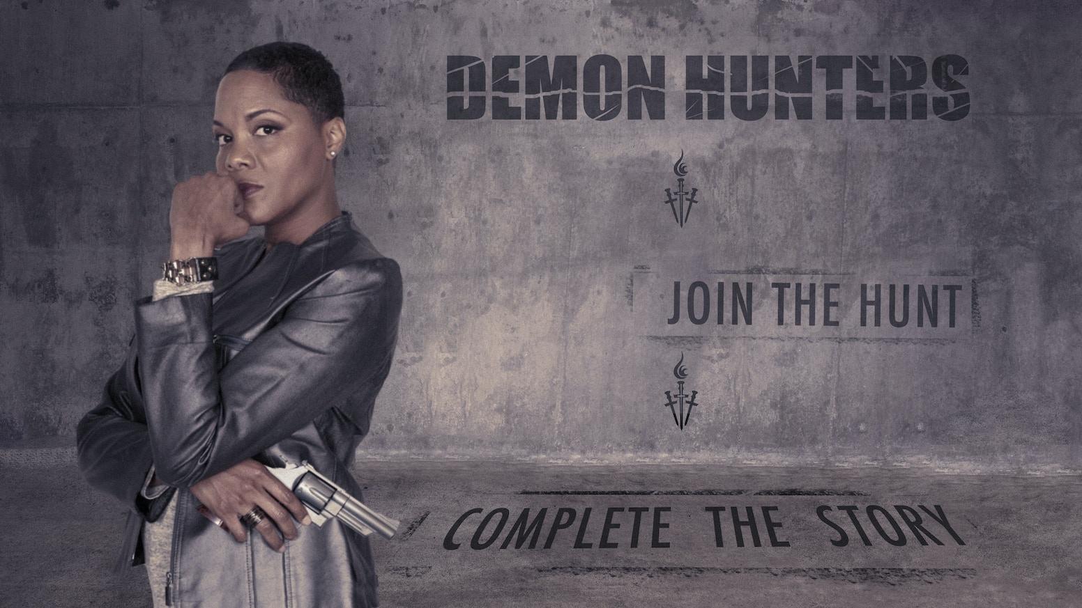 A beautiful print version of the Demon Hunters World Bible, and the funding of the Demon Hunters 3 film script!
