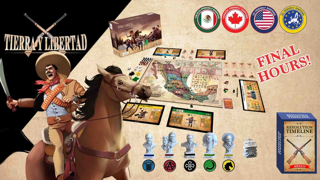 Tierra y Libertad the Revolution Game 2nd edition project video thumbnail