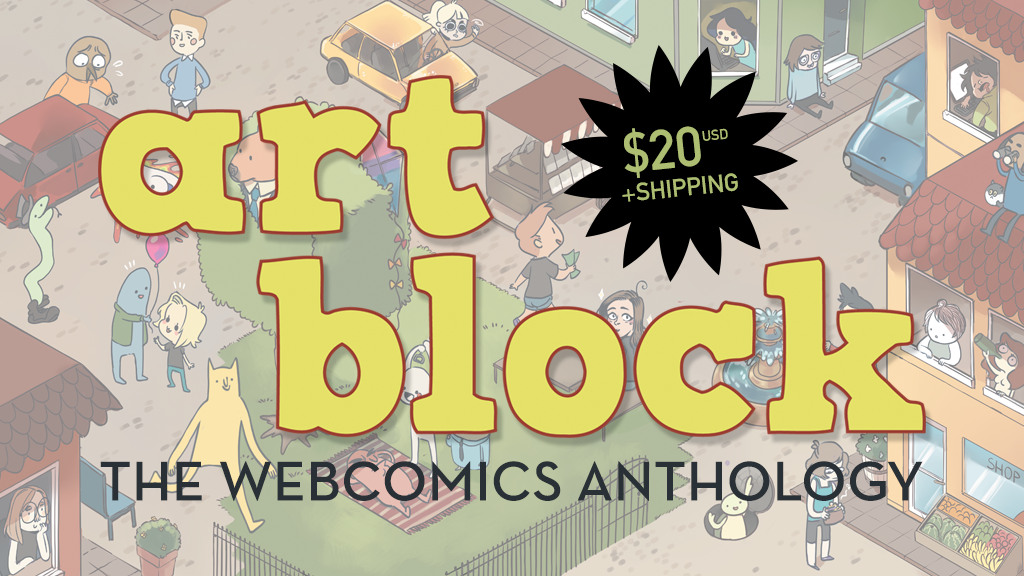 Art Block - The Webcomics Anthology (Launch Party Sequel) project video thumbnail