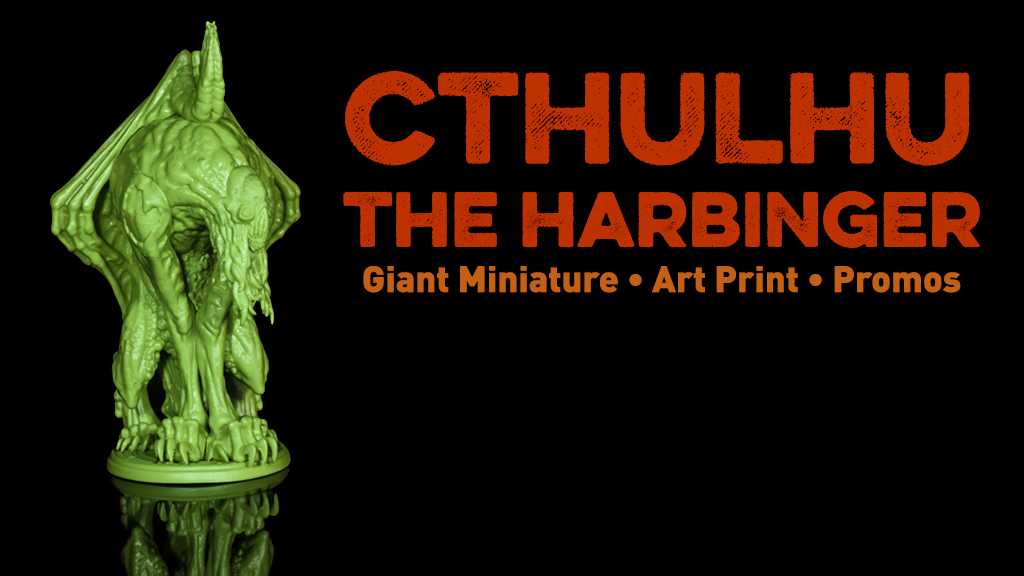 Cthulhu: The Harbinger project video thumbnail