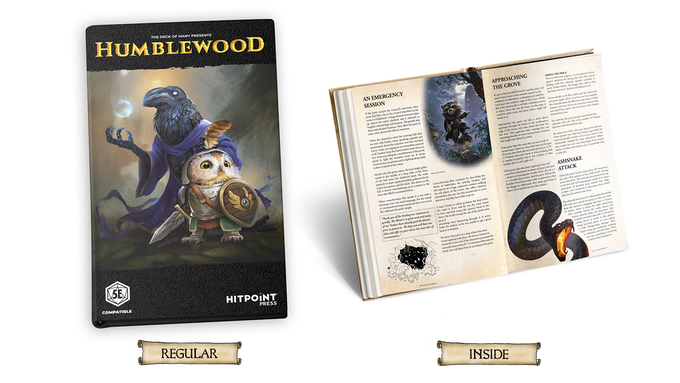 Humblewood Campaign Setting for 5e DND by Hit Point Press — Kickstarter