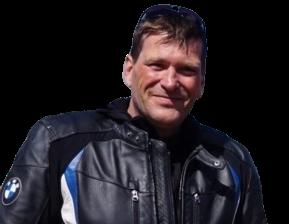 Andrew Beattie,  Motelorcyclist,  Journalist and Author