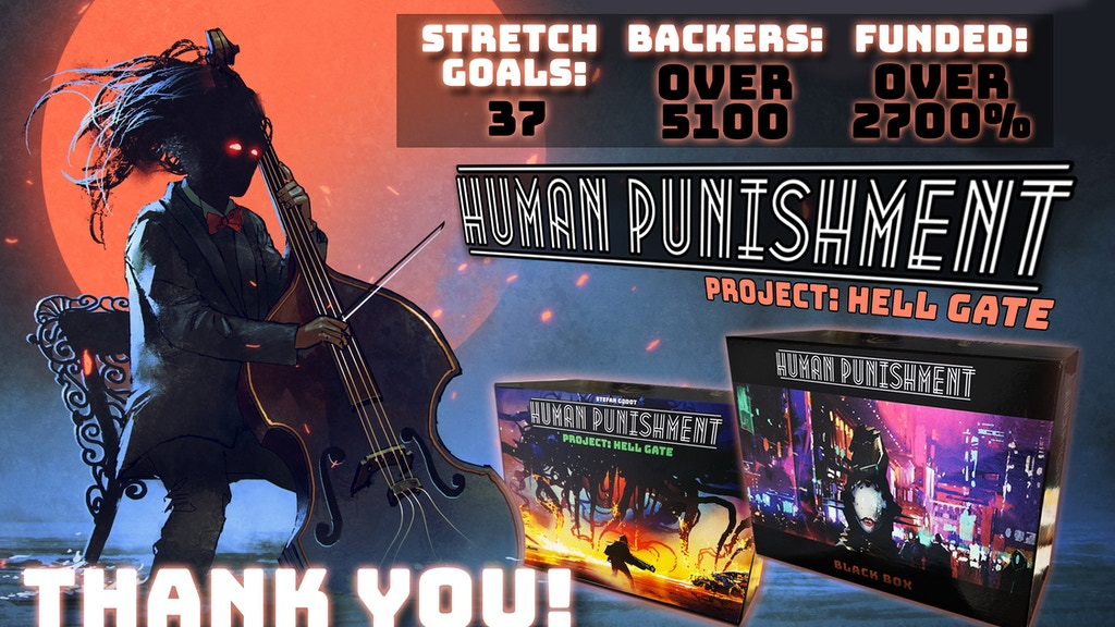 Human Punishment - project: HELL GATE (CoreGame + Expansion) project video thumbnail