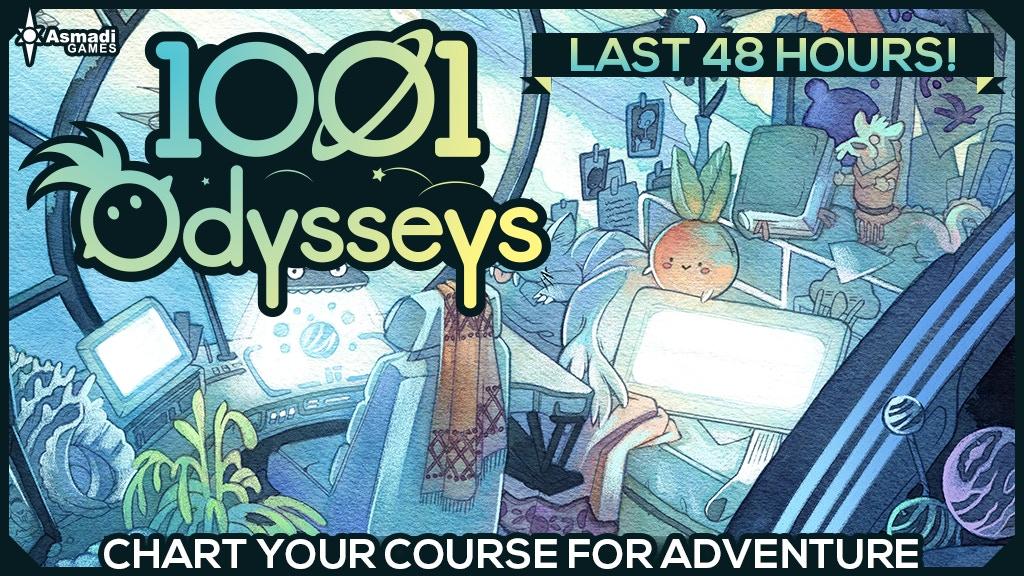 1001 Odysseys project video thumbnail