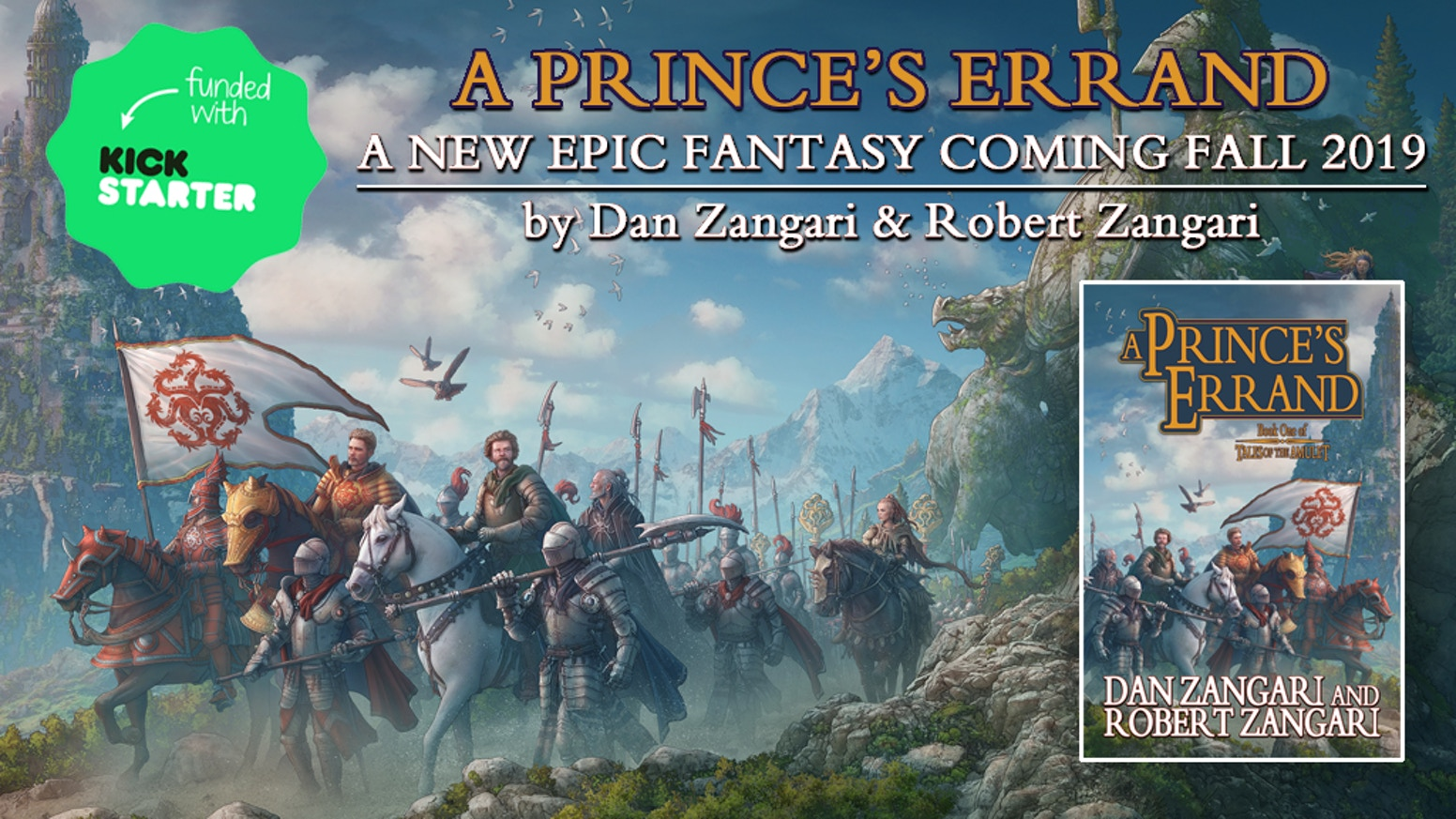 A Prince's Errand: Book One of Tales of the Amulet by Dan Zangari