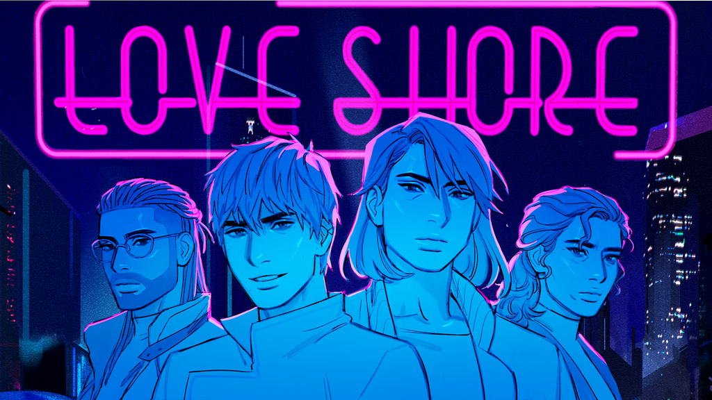Love Shore Game: A Queer Sci-Fi Visual Novel project video thumbnail
